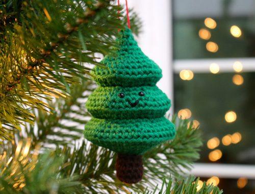 Christmas Crochet Patterns | Fir Tree Free Crochet Pattern