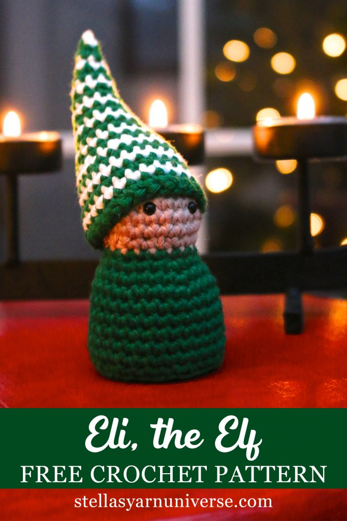 Little Christmas elf | Free amigurumi pattern | lilleliis | 1024x683