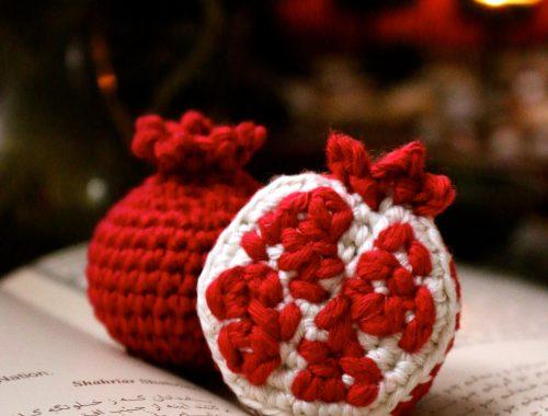 Pomegranate Free Crochet Pattern