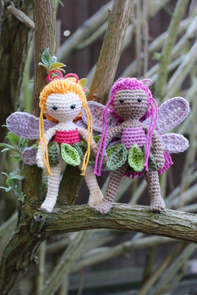 Fairy Sisters Free Crochet Pattern | stellasyarnuniverse.com