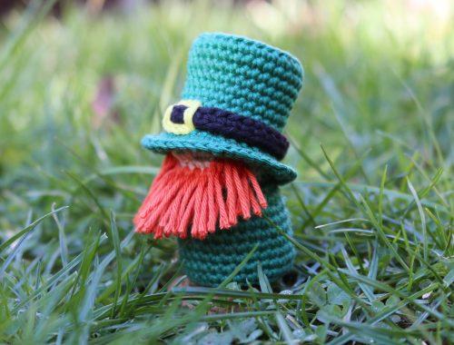 St. Patrick's Day Crochet Pattern | Leprechaun Free Crochet Pattern | stellasyarnuniverse.com