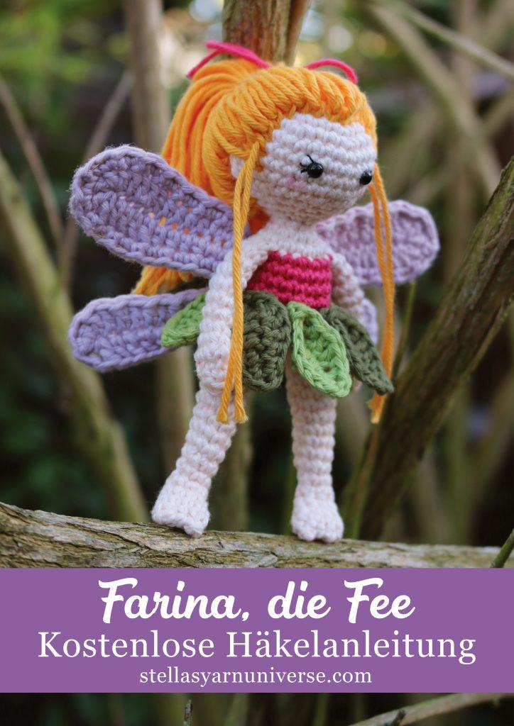 Farina, die Fee | Kostenlose Häkelanleitung | stellasyarnuniverse.com