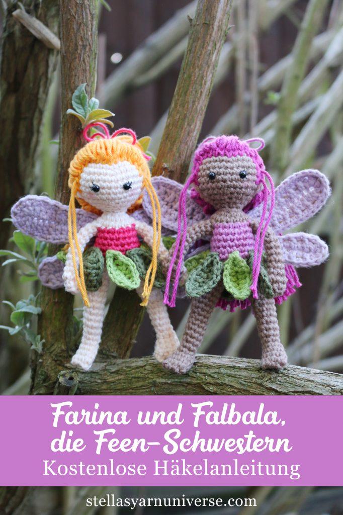 Farina und Falbala | Kostenlose Fee Häkelanleitung | stellasyarnuniverse.com