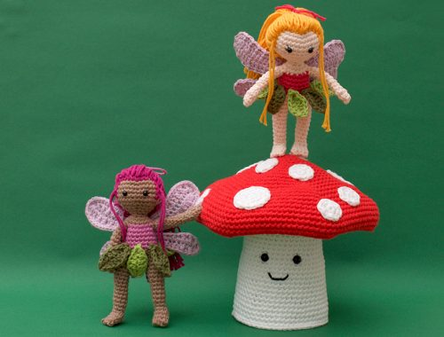 Amigurumi Toadstool Pattern | Enchanted Forest Free Crochet Patterns | stellasyarnuniverse.com