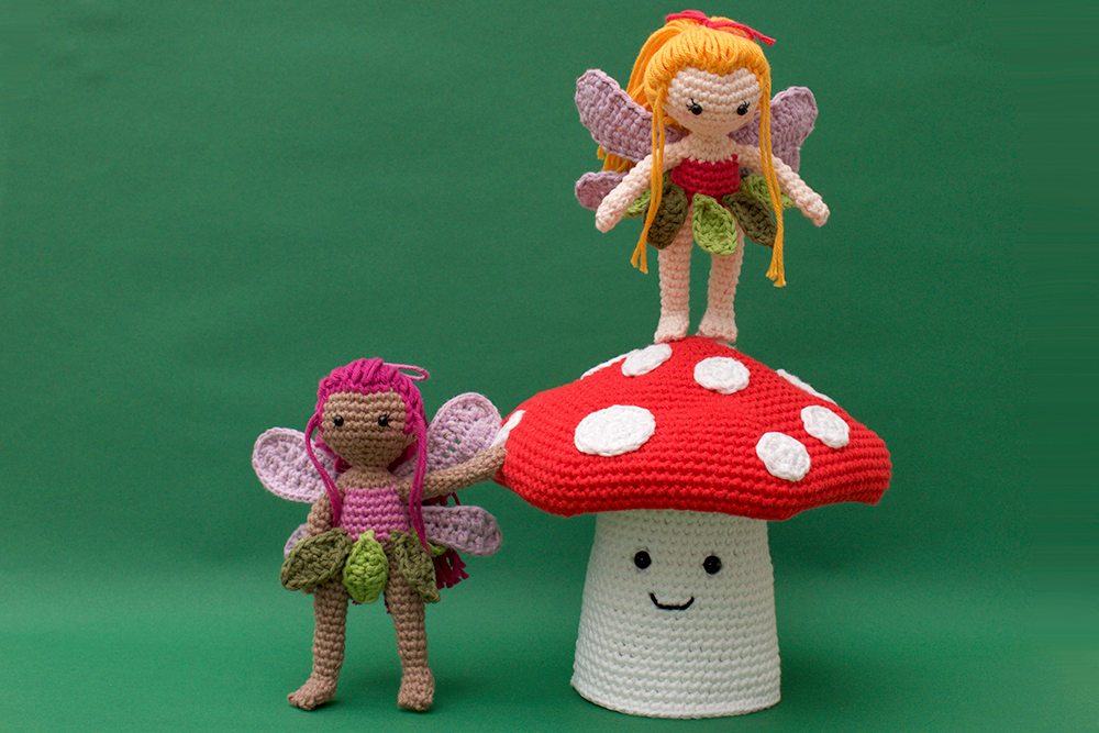 Amigurumi Toadstool Pattern | Enchanted Forest Free Crochet Patterns | stellasyarnuniverse.com
