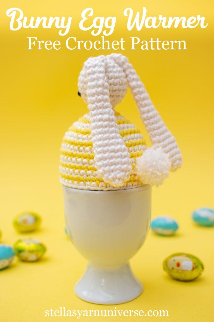 Bunny Egg Warmer | Free Crochet Pattern | Easter Amigurumi Pattern | stellasyarnuniverse.com