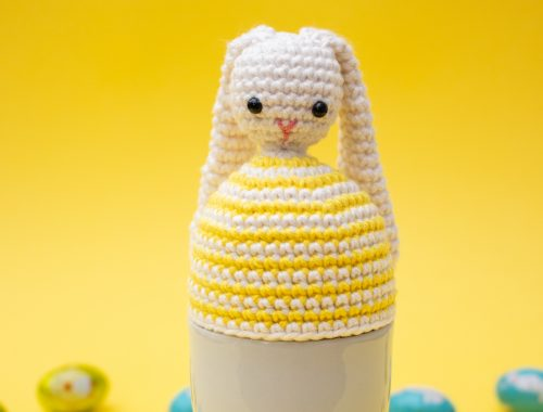 Bunny Egg Warmer | Easter Crochet Pattern | stellasyarnuniverse