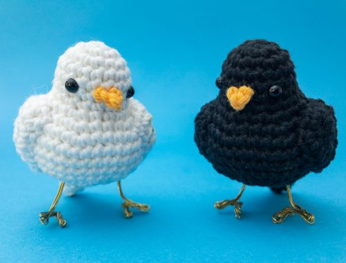 Little Bird Free Crochet Pattern and Video Tutorial | stellasyarnuniverse.com