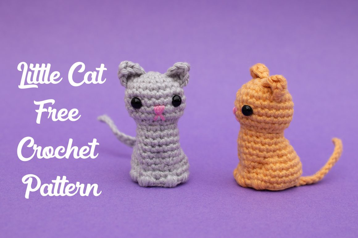 Little Amigurumi Cat Free Crochet Pattern