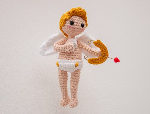 Cupid Doll Free Crochet Pattern