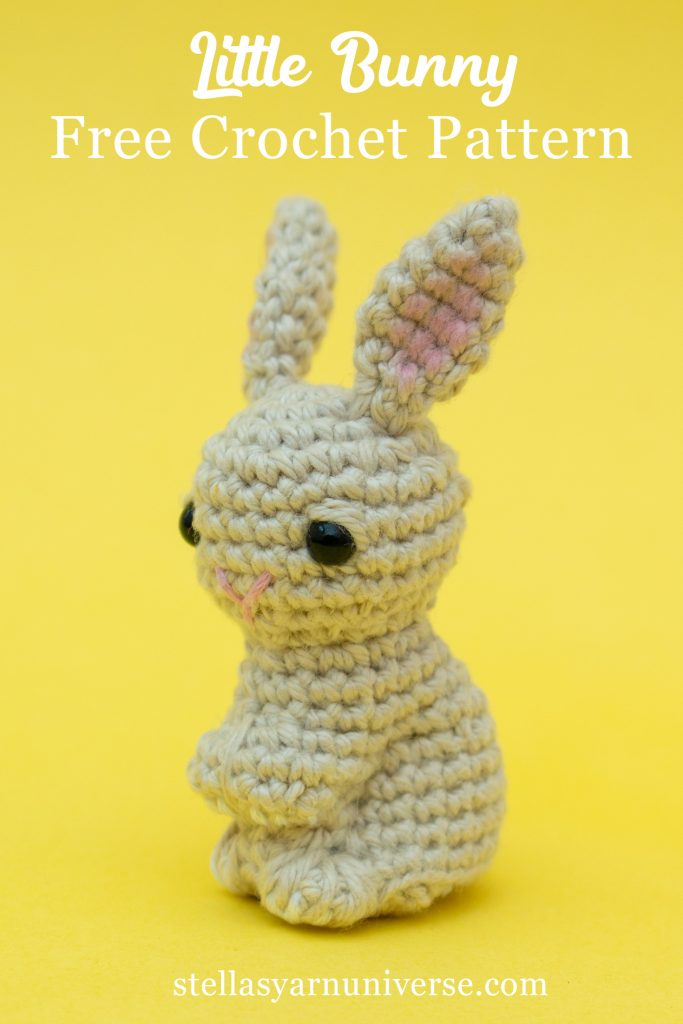 Long Eared Bunny Amigurumi - Crochet Pattern & Tutorial - Creativa ... | 1024x683