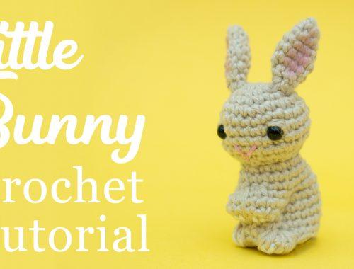 Little Amigurumi Bunny | Free Crochet Pattern | stellasyarnuniverse.com #freeamigurumipatterns