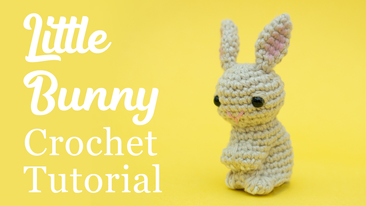 Mini Rabbit 2.5inches – PDF amigurumi crochet pattern by Chonticha ... | 720x1280