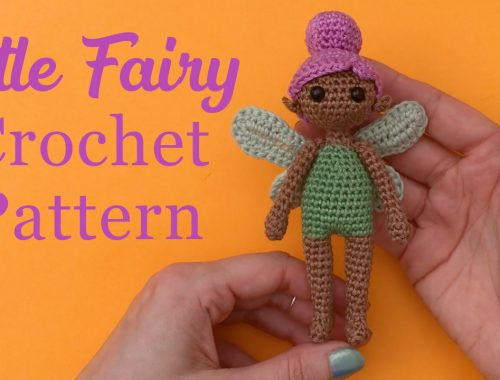 Little Fairy Free Crochet Pattern | stellasyarnuniverse.com #freeamigurumipatterns