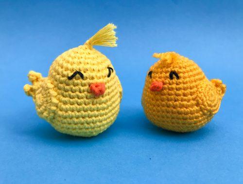 Amigurumi Chick - Free Crochet Pattern | Beginner friendly Amigurumi Pattern | stellasyarnuniverse.com #freeamigurumipatterns