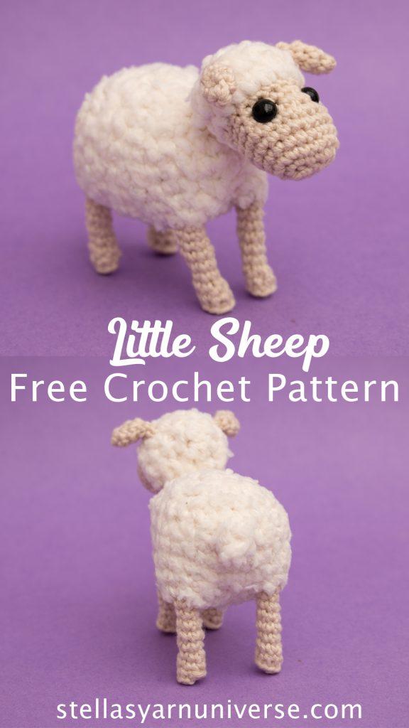 Amigurumi Sheep - Free Crochet Pattern | Farm Animal Amigurumi Patterns