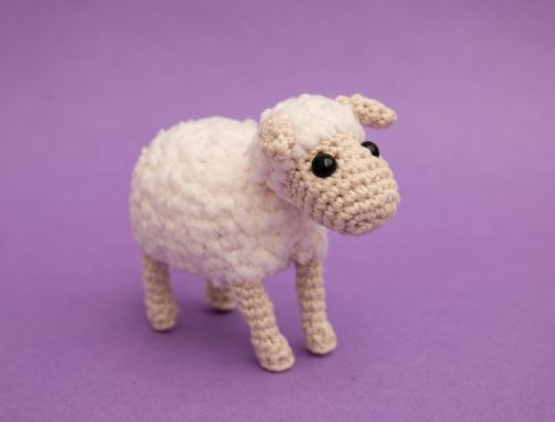 Sheep amigurumi pattern