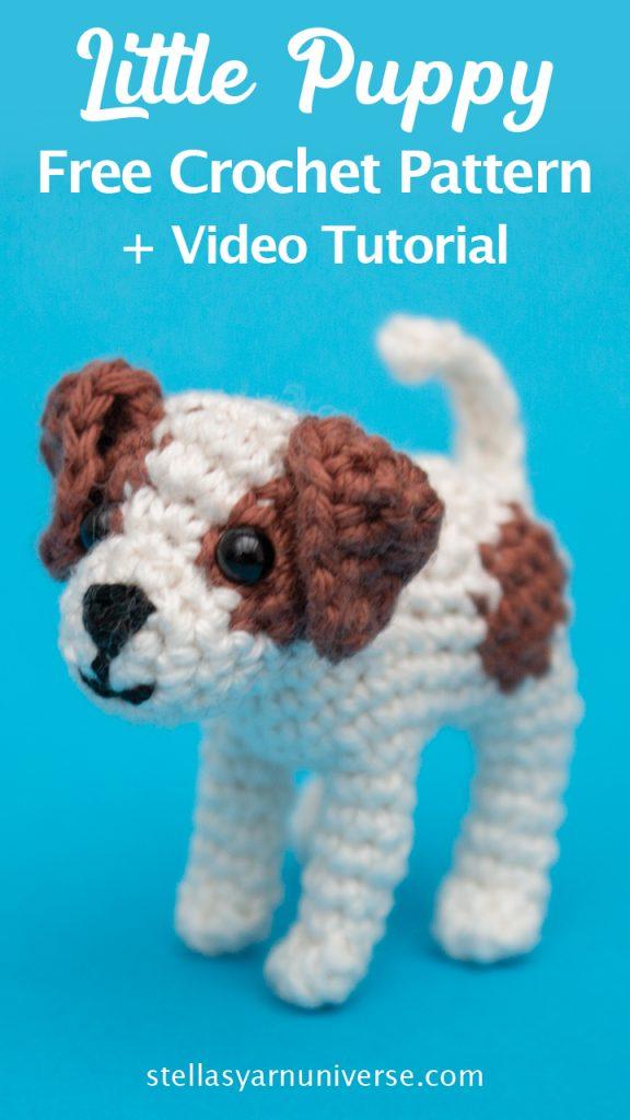 Puppy Amigurumi - Jack Russel Terrier Free Crochet Pattern