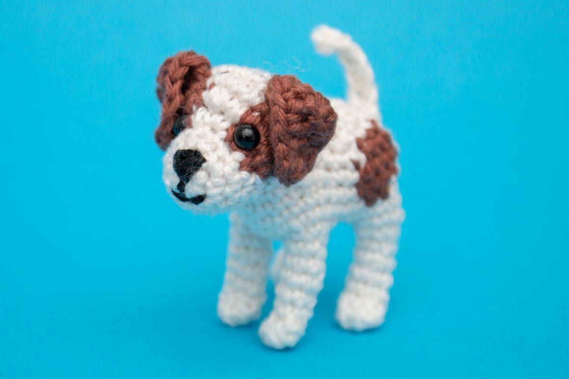 Amigurumi Hund Kostenlose Häkelanleitung
