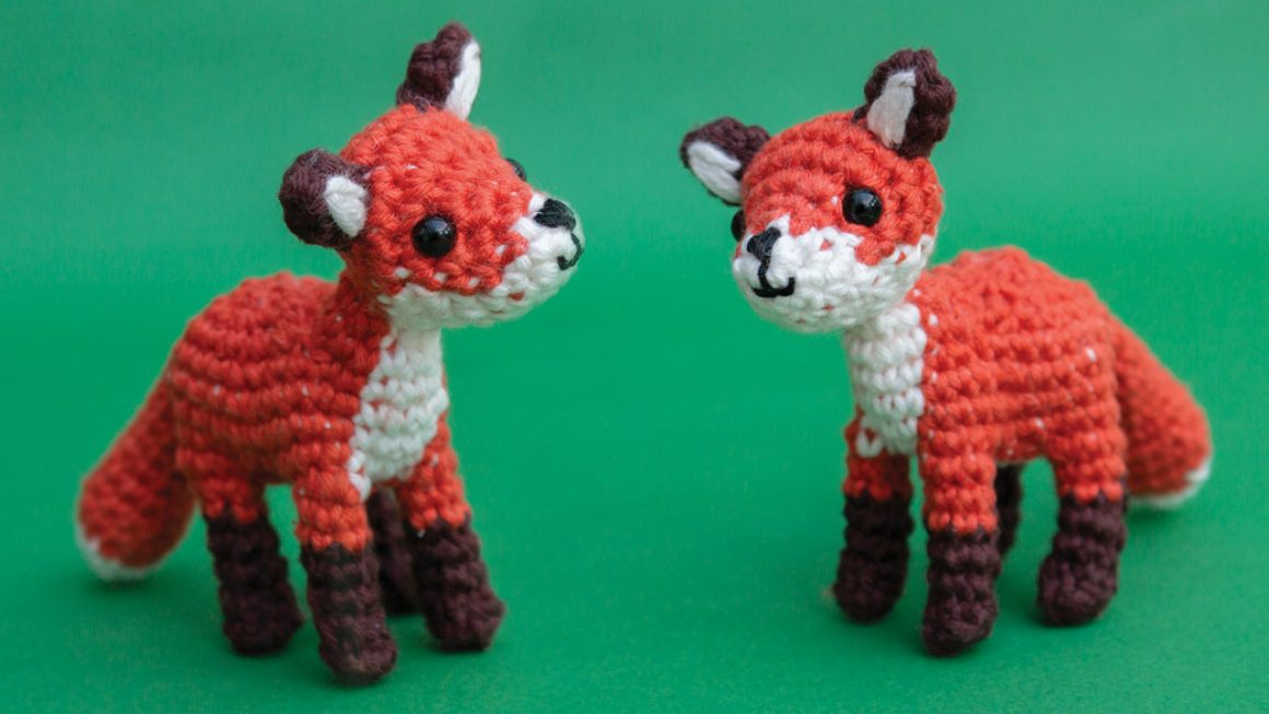 Little fox free amigurumi pattern | Woodland animal crochet pattern