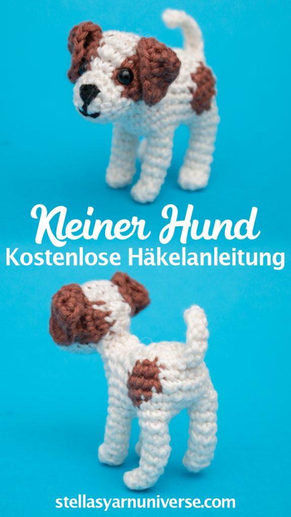 Jack Russel Amigurumi Hund - Kostenlose Amigurumi Häkelanleitung