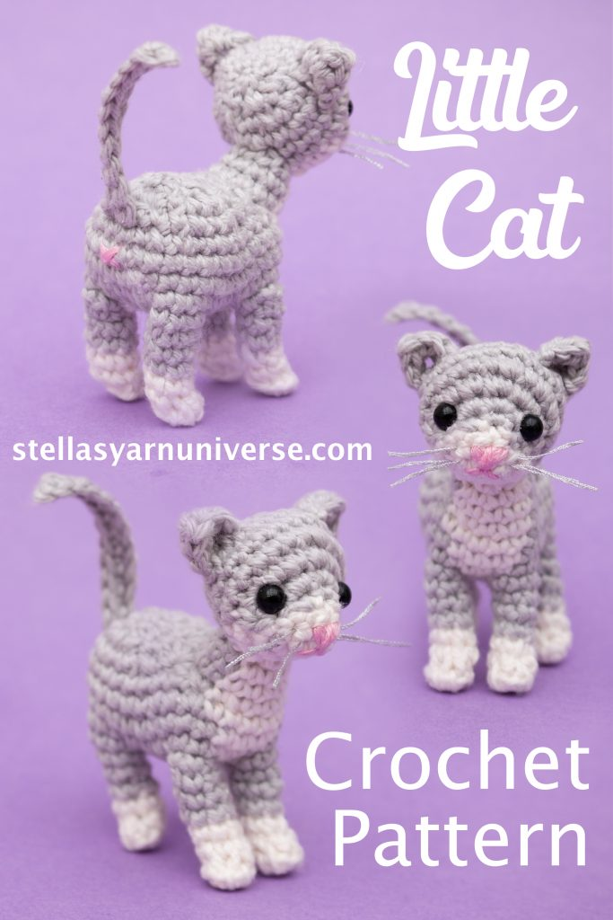 Cat Amigurumi Free Crochet Pattern