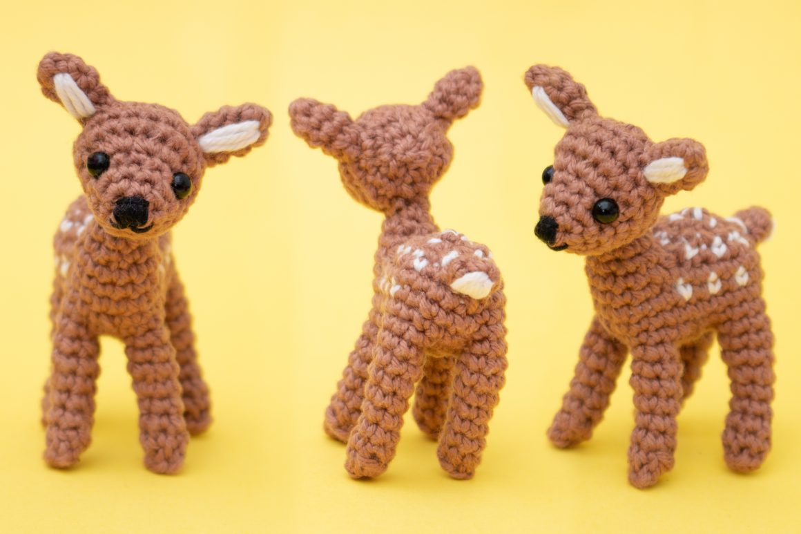 Deer Free Amigurumi Pattern | stellasyarnuniverse.com