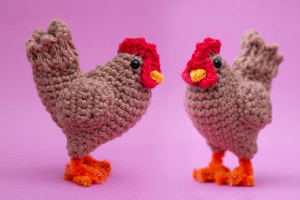 free chicken crochet pattern