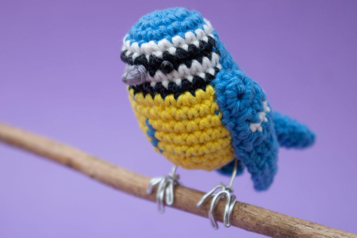 Blue Tit amigurumi crochet pattern
