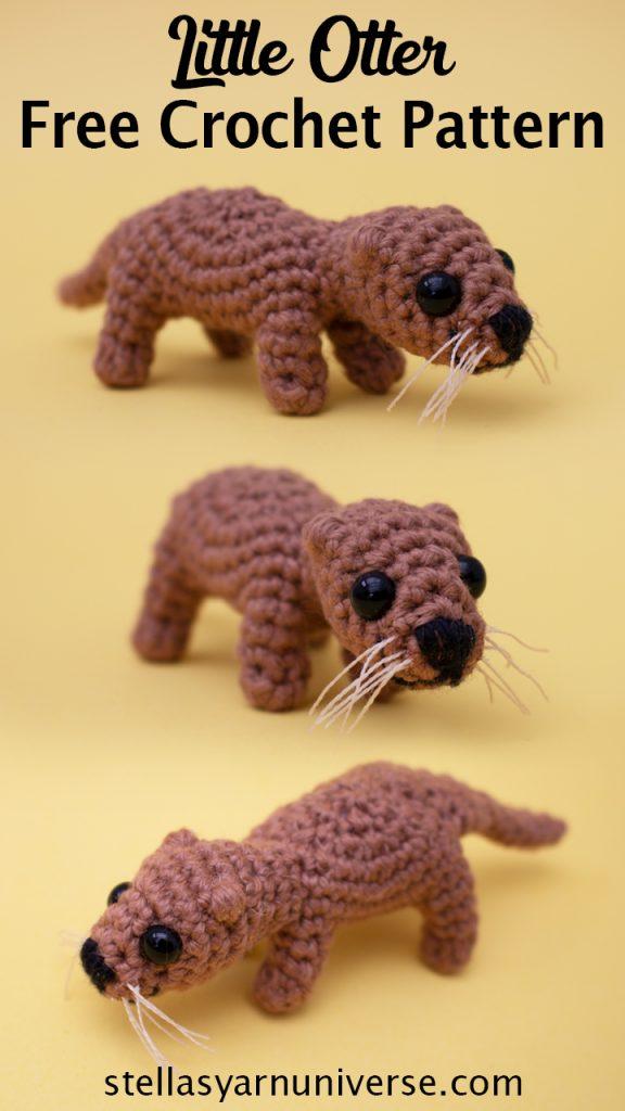 Amigurumi Otter Free Crochet Pattern
