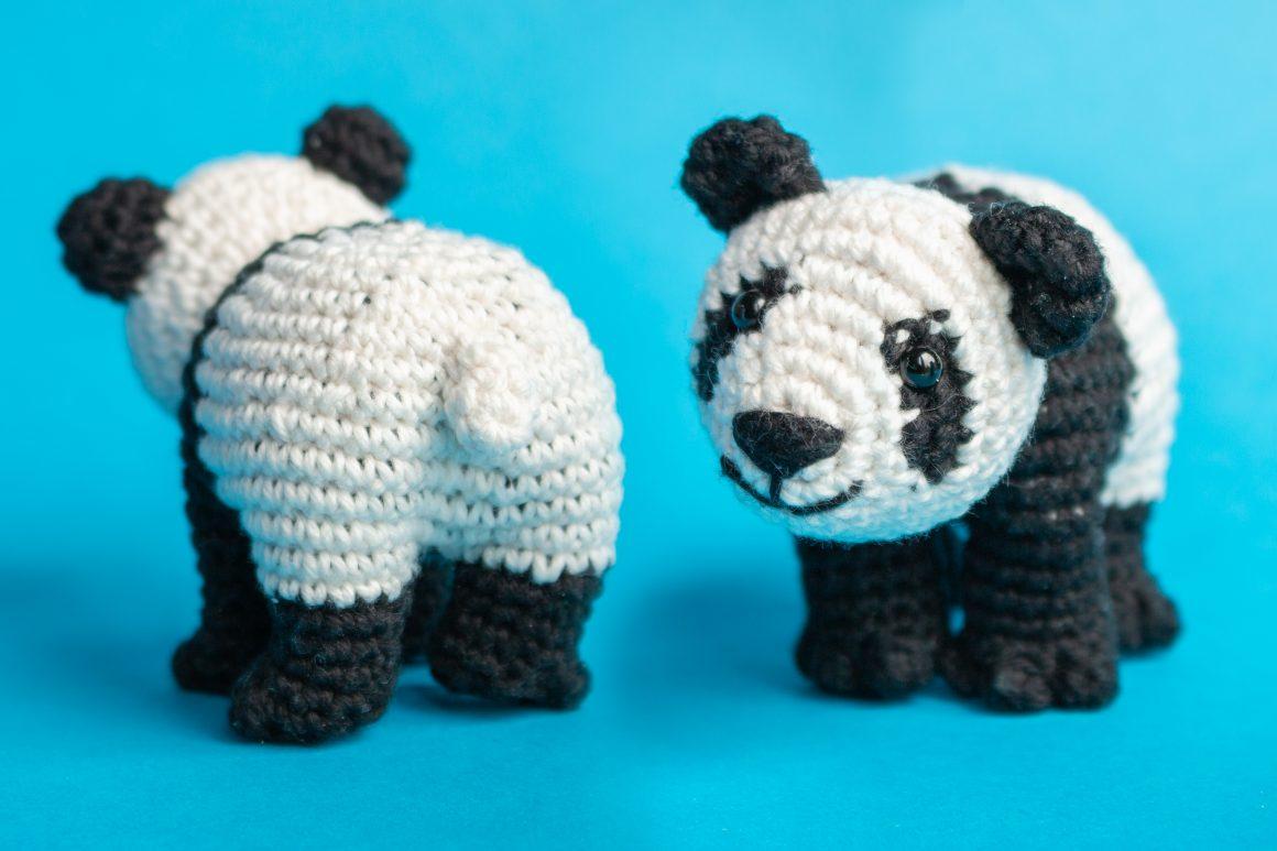 Panda Free Amigurumi Pattern